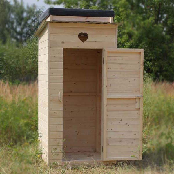 Делаю сам туалет на даче своими руками