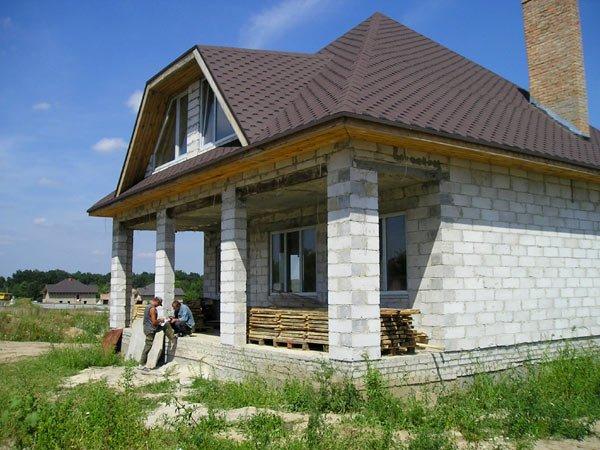 Построить дом из шлакоблока своими руками 84