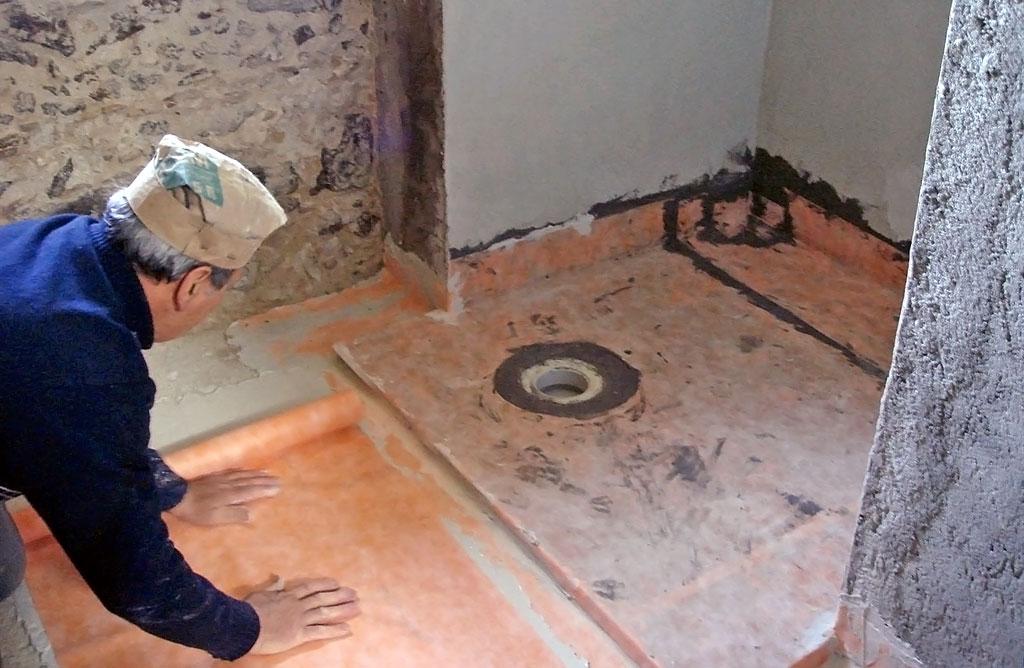 Как сделать гидроизоляцию на полу в ванной