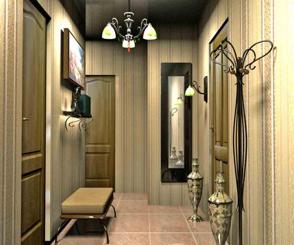 Дизайн прихожей в коридоре фото